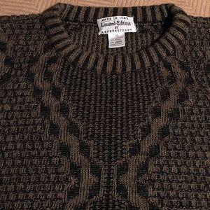 Vintage Grandpa Sweater Wool Blend EUC sz XL
